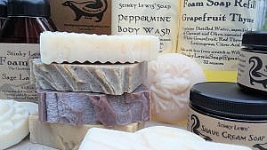 Stinky Lewis Soap available at Ward's