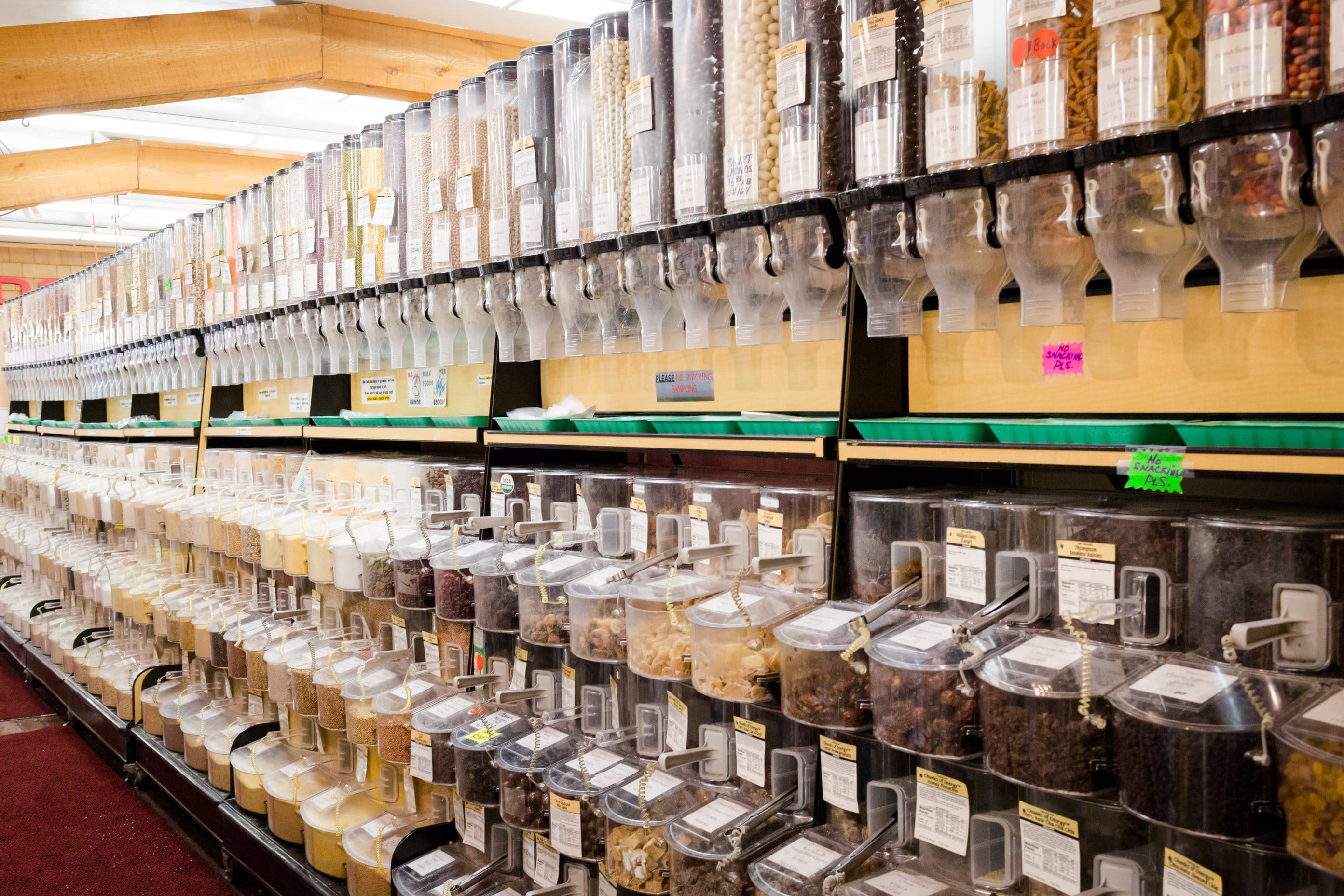 Shop in Bulk at Ward's to Reduce Your Carbon Footprint