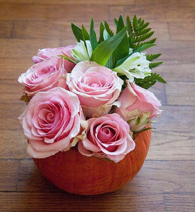Pumpkin Vase Fall Decor