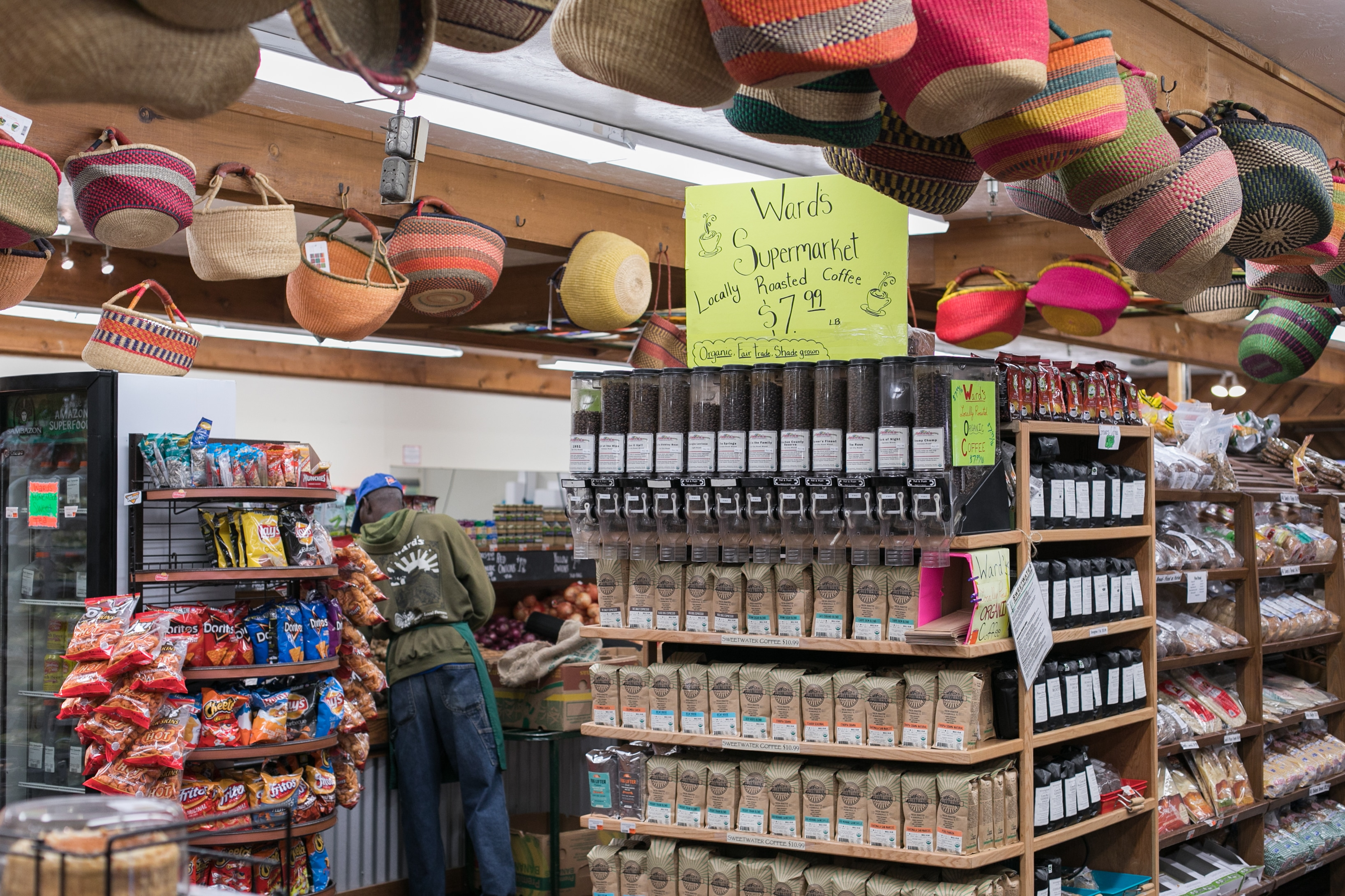 Local gifts coffee lover Ward's Supermarket Gainesville FL