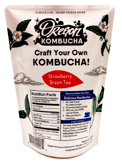 Oregon kombucha starter kit