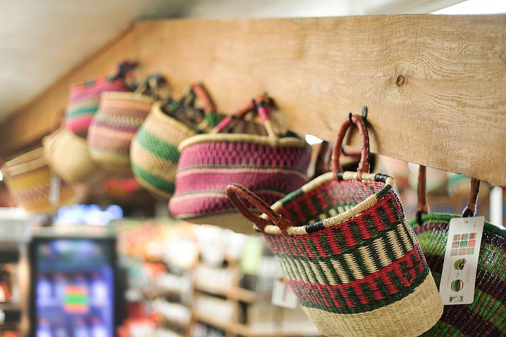 african handmade market baskets