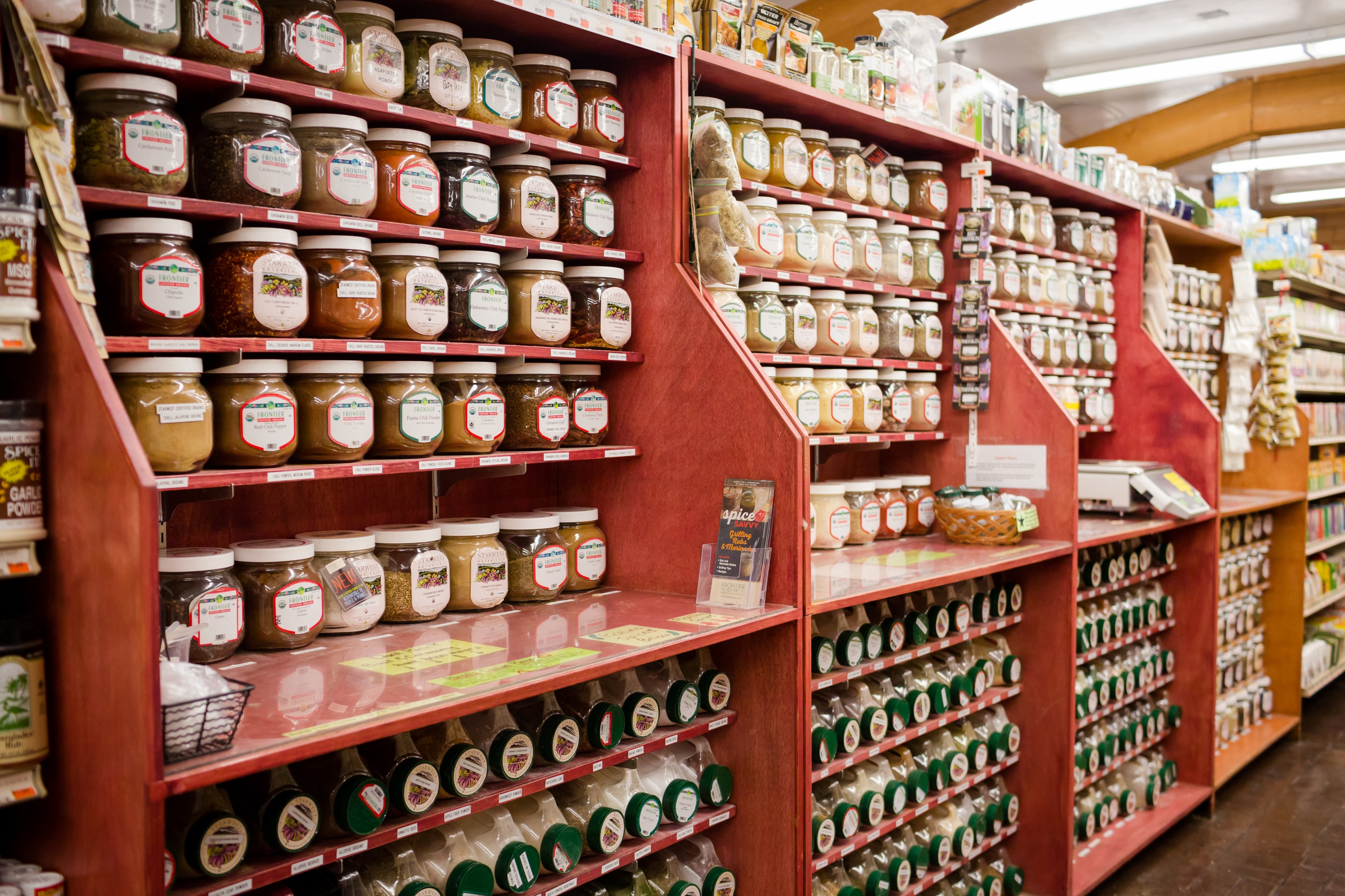 Ward's Supermarket Spice Food Aisle Gainesville FL